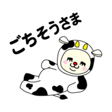 Bears love costumes of daily life sticker #107990