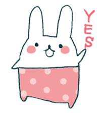 My rabbit sticker #108417