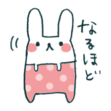 My rabbit sticker #108420