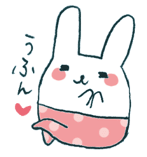 My rabbit sticker #108427