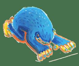 BLUE GORILLA sticker #108533