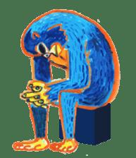 BLUE GORILLA sticker #108539
