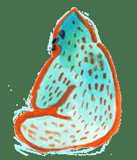 BLUE GORILLA sticker #108548