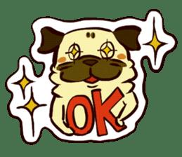 PUG sticker #108556