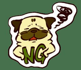PUG sticker #108557