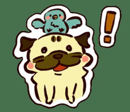 PUG sticker #108558