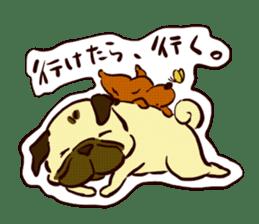 PUG sticker #108564