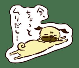 PUG sticker #108568