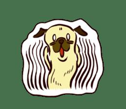PUG sticker #108581