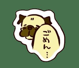 PUG sticker #108582