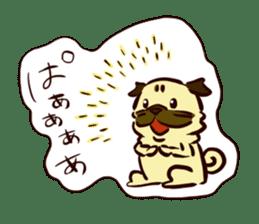 PUG sticker #108583