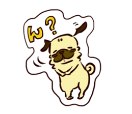 PUG sticker #108584