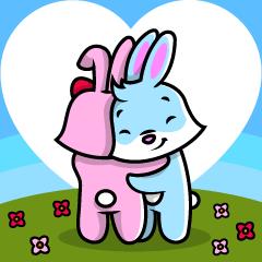Cuddle and Hug - I LOVE YOU