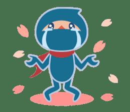 Ninja! Secret picture scroll of Anko sticker #108982