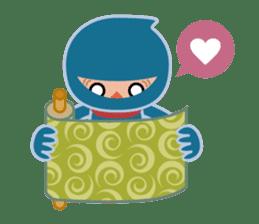 Ninja! Secret picture scroll of Anko sticker #108985