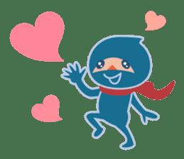 Ninja! Secret picture scroll of Anko sticker #108989