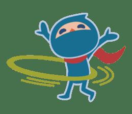 Ninja! Secret picture scroll of Anko sticker #108990