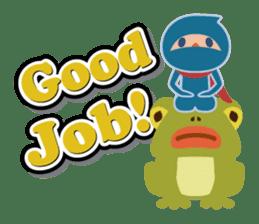 Ninja! Secret picture scroll of Anko sticker #108991