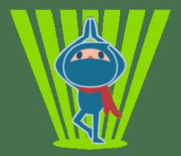 Ninja! Secret picture scroll of Anko sticker #108993