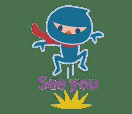 Ninja! Secret picture scroll of Anko sticker #108995