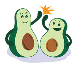 Avocado Brothers sticker #109516
