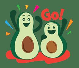 Avocado Brothers sticker #109519