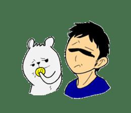 An and Bear sticker #109592