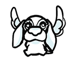 animal character sticker #110000
