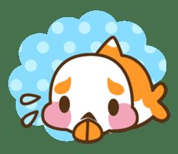 Yoikono Kingyo sticker #111993