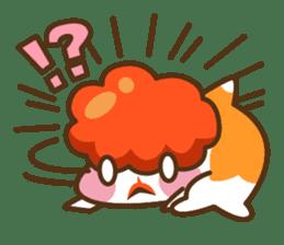 Yoikono Kingyo sticker #112000