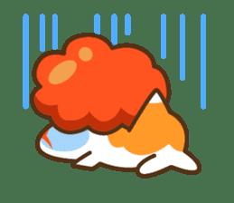 Yoikono Kingyo sticker #112007