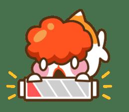 Yoikono Kingyo sticker #112009