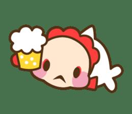 Yoikono Kingyo sticker #112013