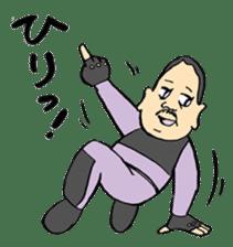 FUNK Master Takashi-kun with his Posse sticker #112389