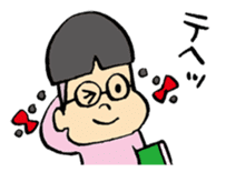 FUNK Master Takashi-kun with his Posse sticker #112425