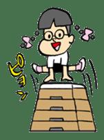 FUNK Master Takashi-kun with his Posse sticker #112426