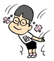 FUNK Master Takashi-kun with his Posse sticker #112427