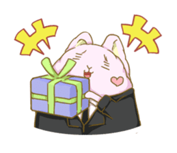 [Fluffy Angorabbit] sticker #112429