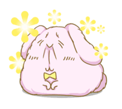 [Fluffy Angorabbit] sticker #112431