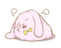[Fluffy Angorabbit] sticker #112450