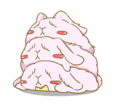 [Fluffy Angorabbit] sticker #112465