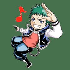 Arakure children sticker #112549