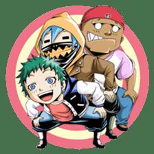 Arakure children sticker #112564