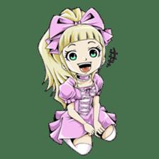 Arakure children sticker #112572