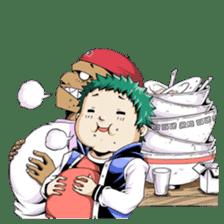 Arakure children sticker #112582
