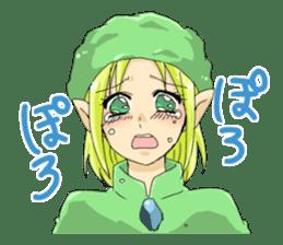 Ogiri girls laugh and cry sticker #112756
