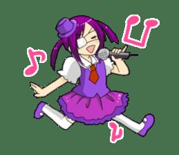 Ogiri girls laugh and cry sticker #112761