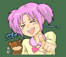 Ogiri girls laugh and cry sticker #112766