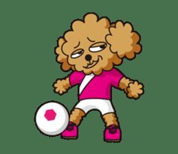 futsal monster sticker #112921