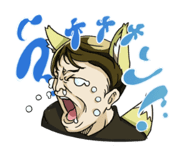[Funny Face Stamp] sticker #113117